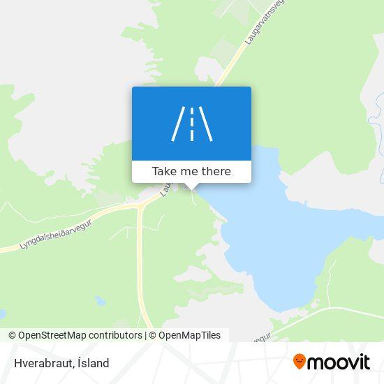 Hverabraut map