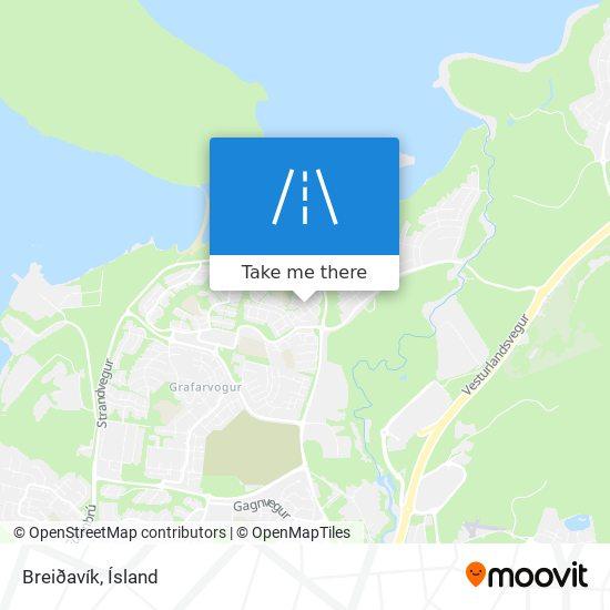 Breiðavík map