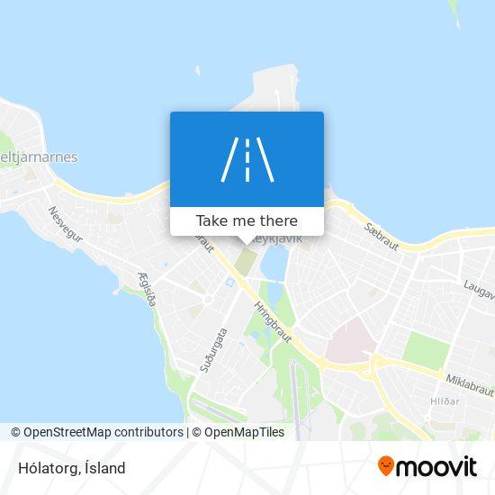 Hólatorg map