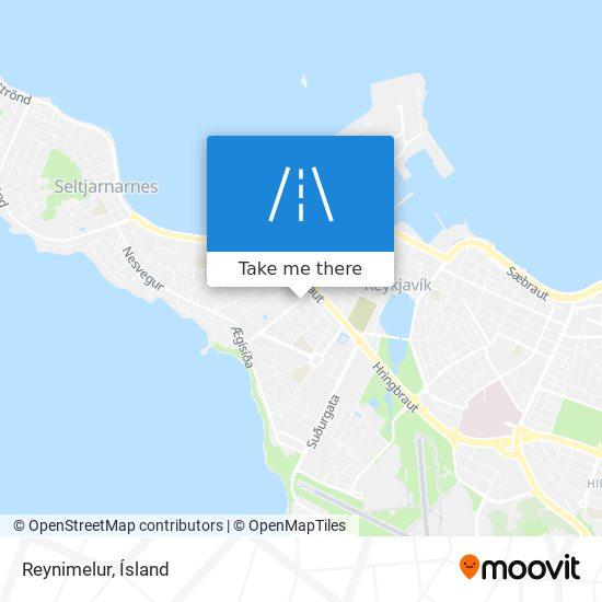 Reynimelur map