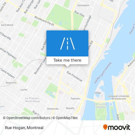 How to get to Rue Hogan in Montréal by Bus or Metro | Moovit