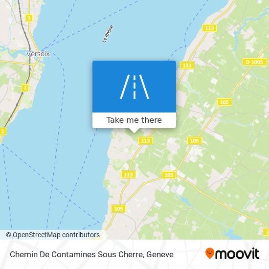 Chemin De Contamines Sous Cherre map