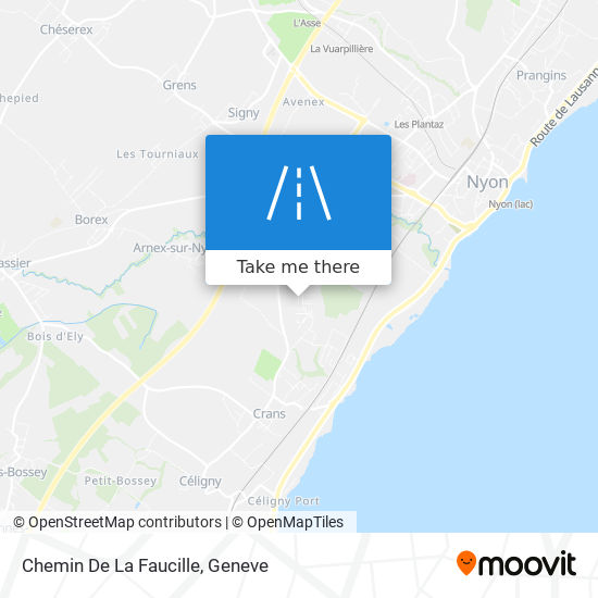 Chemin De La Faucille map