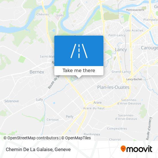Chemin De La Galaise map