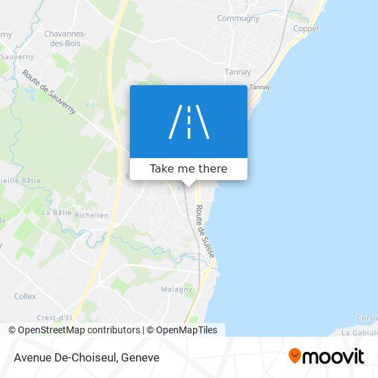Avenue De-Choiseul map