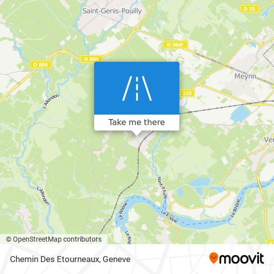 Chemin Des Etourneaux map