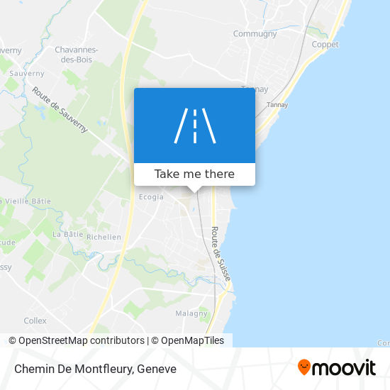 Chemin De Montfleury map
