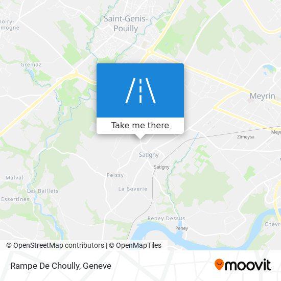 Rampe De Choully map