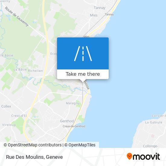 Rue Des Moulins map