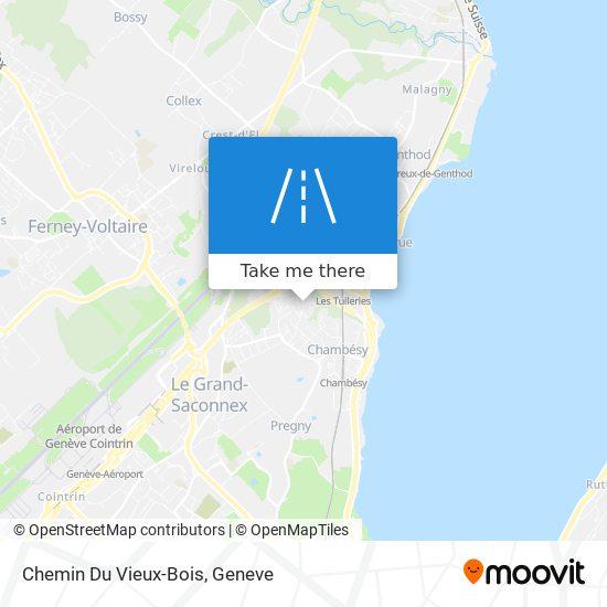 Chemin Du Vieux-Bois map