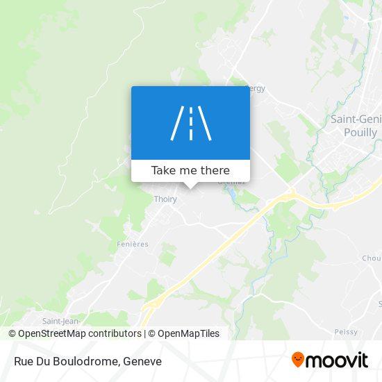 Rue Du Boulodrome map