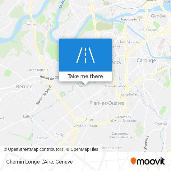 Chemin Longe-L'Aire map