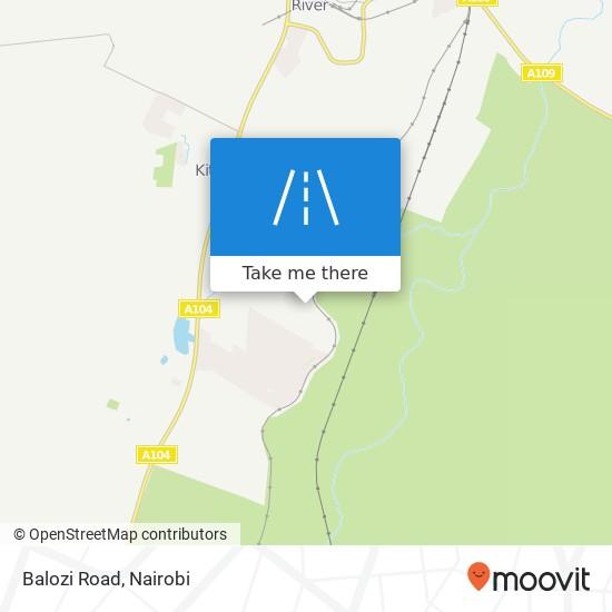 Balozi Road map