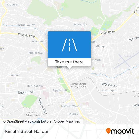 Kimathi Street map