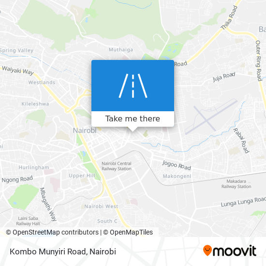Kombo Munyiri Road map