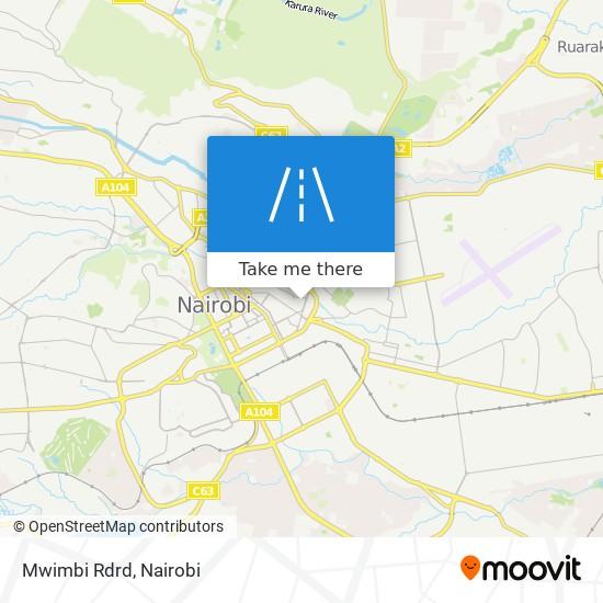 Mwimbi Rdrd map