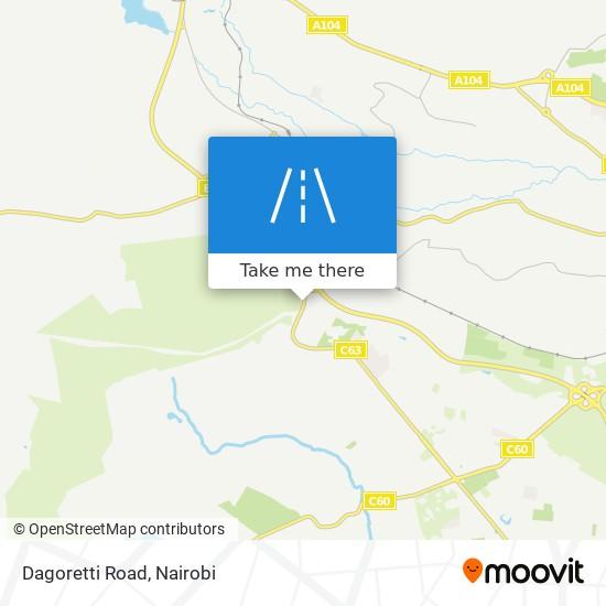 Dagoretti Road map