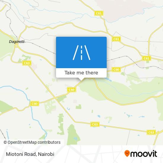 Miotoni Road map