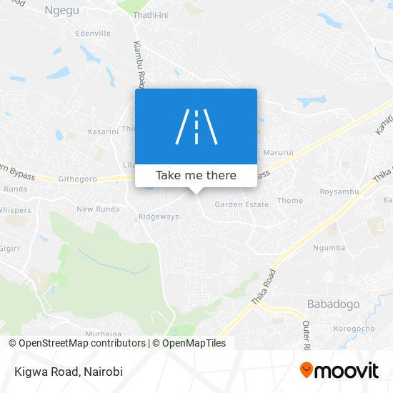 Kigwa Road map