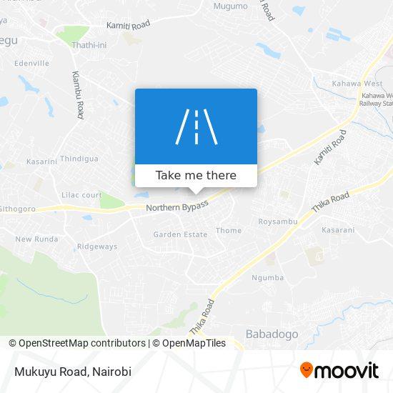Mukuyu Road map
