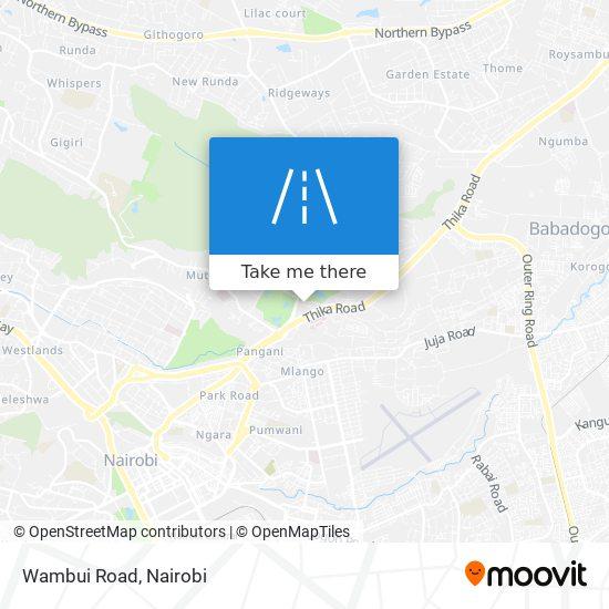 Wambui Road map