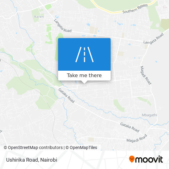 Ushirika Road map