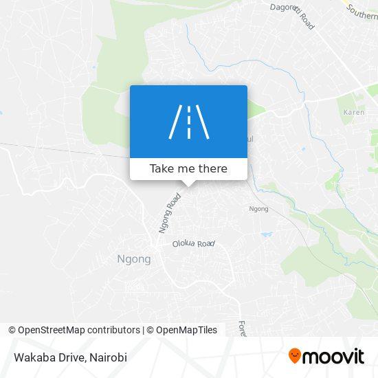 Wakaba Drive map