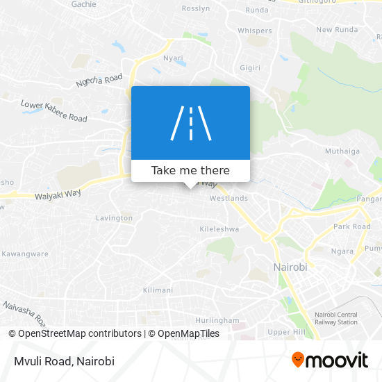 Mvuli Road map