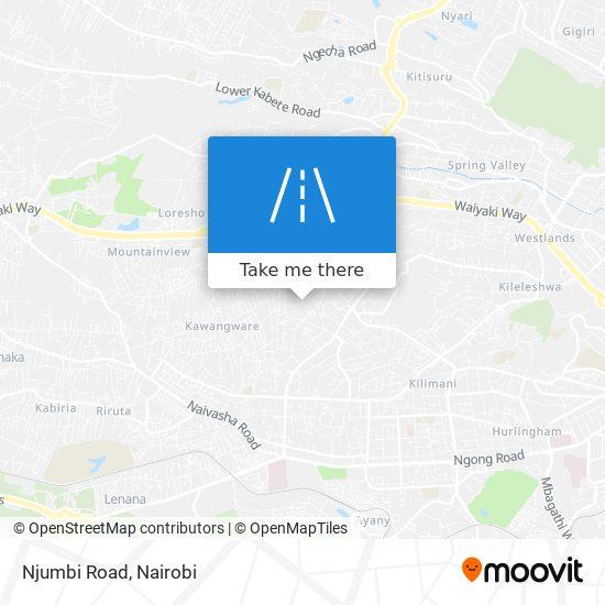Njumbi Road map