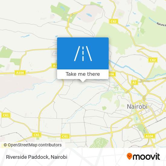 Riverside Paddock map