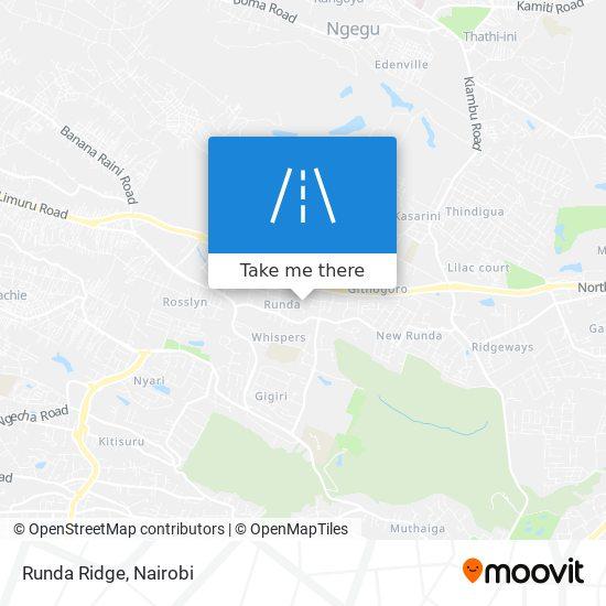 Runda Ridge map