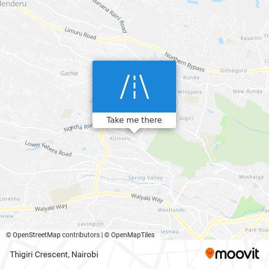 Thigiri Crescent map