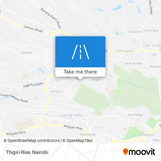 Thigiri Rise map