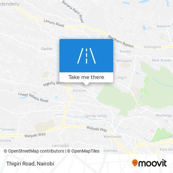 Thigiri Road map