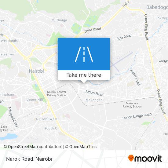 Narok Road map