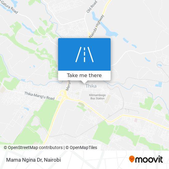 Mama Ngina Dr map