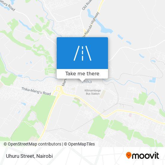 Uhuru Street map