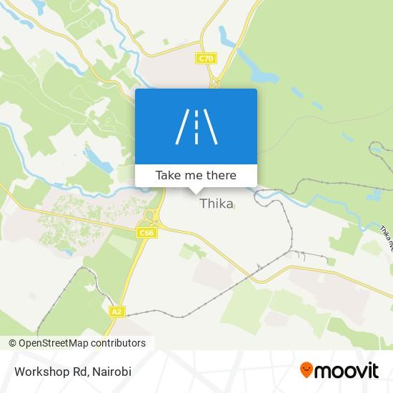 Workshop Rd map