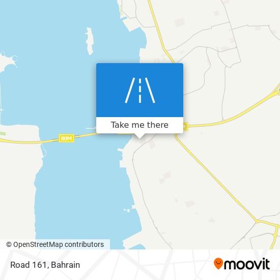 Road 161 map