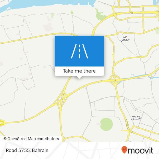 Road 5755 map