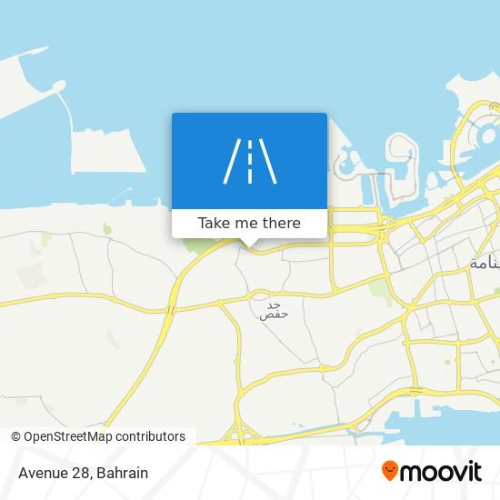 Avenue 28 map