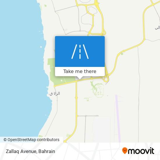 Zallaq Avenue map