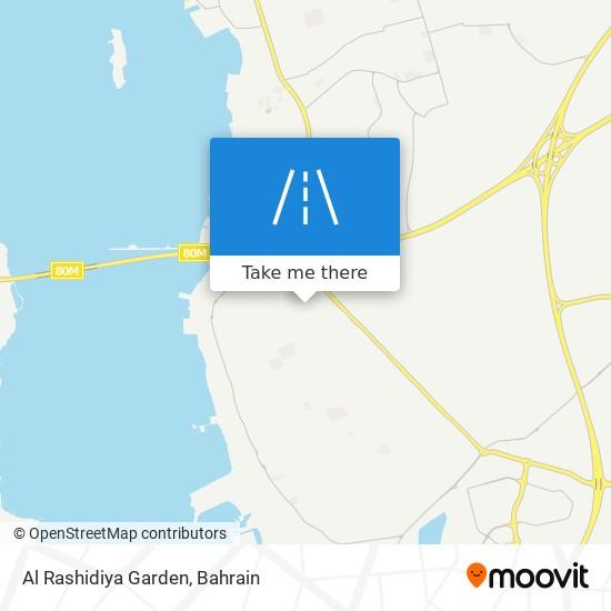 Al Rashidiya Garden map