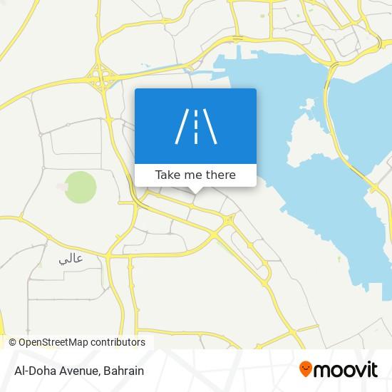 Al-Doha Avenue map