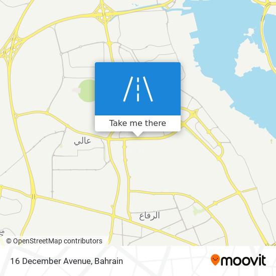 16 December Avenue map