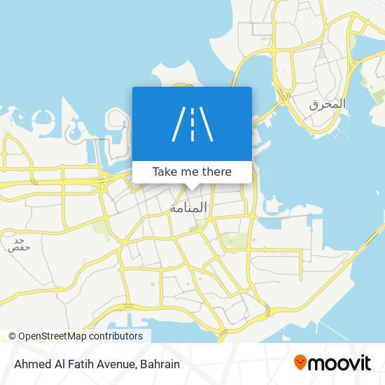 Ahmed Al Fatih Avenue map