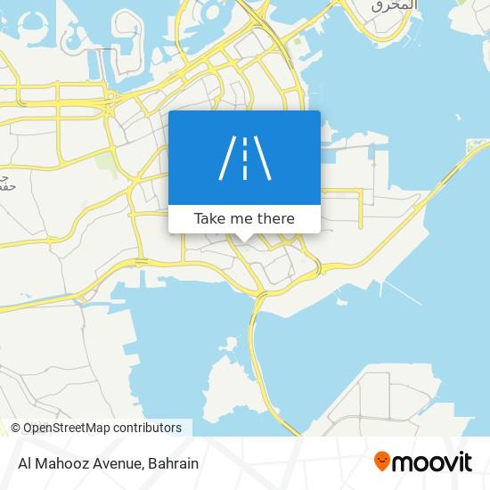 Al Mahooz Avenue map