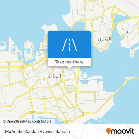 Ma'An Bin Zaedah Avenue map