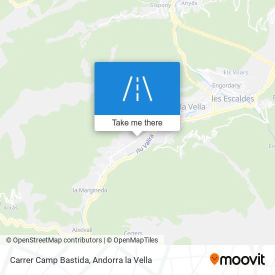 Carrer Camp Bastida map