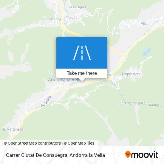 Carrer Ciutat De Consuegra map